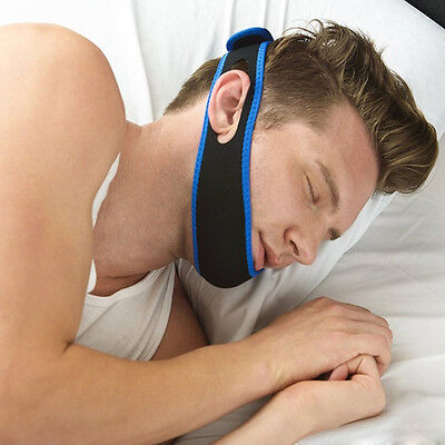 HOT Anti-snoring Belt Support Stop Snoring Chin Strap Snore Belt Anti Apnea 1pc