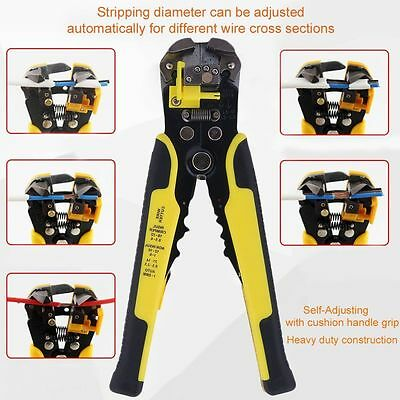Automatic Wire Stripper Crimper Hand Pliers Cable Cutter Crimping Terminal Tool