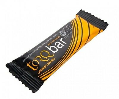 Torq ENERGY BAR 45g, Box Of 15,High Complex Carbohydrates ORGANIC MANGO*UK Brand