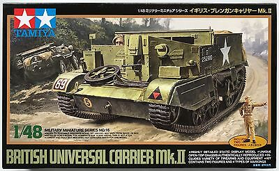 Tamiya 32516 British Universal Carrier Mk.II 1/48 Model Kit NIB