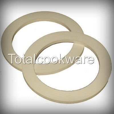 Spare Silicone Gaskets for Espresso Moka Stovetop Coffee Maker 12 Cup Set Of 2