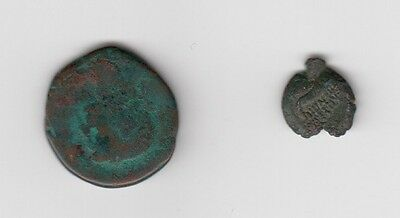 Two Hammered Coins