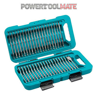 Makita P-90299 Flat Bit Set (40-Piece)