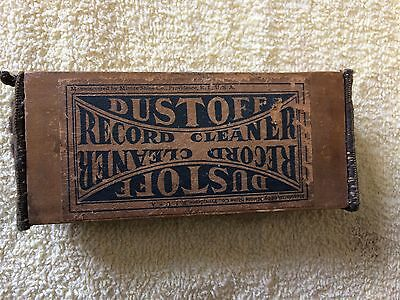 Antique Wooden DustOff Record Duster/Cleaner