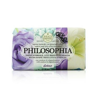 Nesti Dante Philosophia Natural Soap - Detox - Winter Daphne, White Lotus & Echi