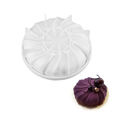 Silicone Whirlwind Cake Baking Mold For Mousse Dessert Chocolate Brownies USA UK