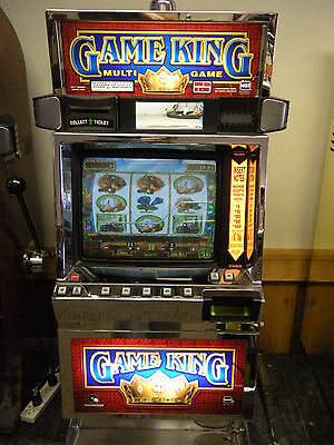 Igt Game King Poker Machine  (Coinless) (Ticket Printer)