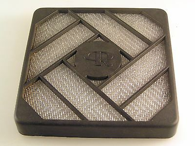 CR Personalised Fan Grill & Guard 80x80mm Black ABS Computer use etc OL0375a