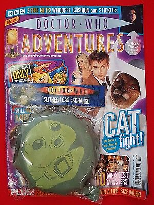 Doctor Who Adventures DWA Magazine Issue 2 19th April 2006 with Cushion Stickers