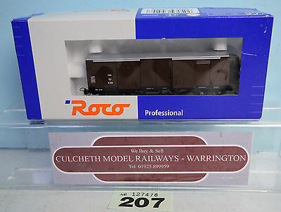 ROCO 34529 'HOe/OO9' COVERED FREIGHT WAGON DR BOXED #207