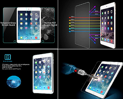 Genuine Premium Tempered Glass Film Screen Protector For Apple iPad 2, 3 and 4