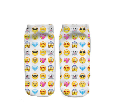 2 Paar Smiley Socken