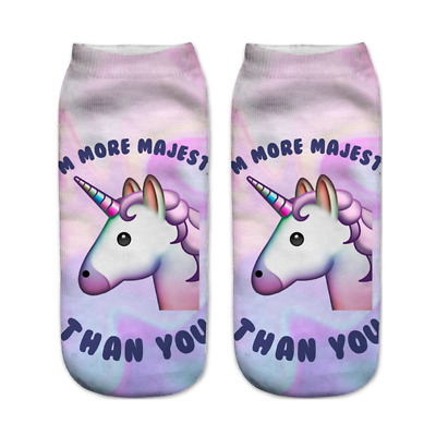2 Paar Unicorn Lovely Socken