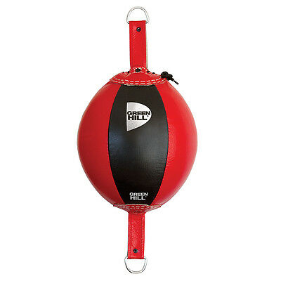 Palla Tesa Francese Beta Speed Ball Pera Boxe Pugilato Green Hill Vera Pelle
