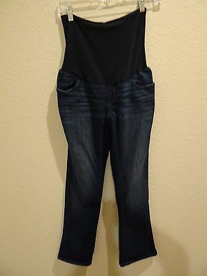 A Pea in the Pod Maternity Jeans Size P 29 Slim Bootcut 8 Petite