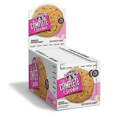 BIRTHDAY CAKE Lenny & Larry All Natural Complete Vegan Protein Cookie