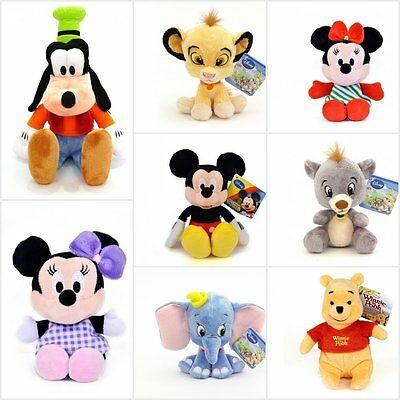 Disney Soft Plush Toys Series Mickey And Minnie Animal Friends Winnie The Pooh