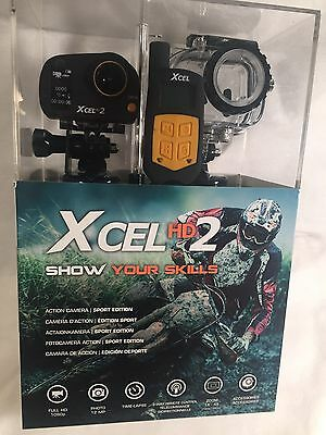 Spypoint Xcel HD2 Action Camera, Full HD, 12MP, Clear Housing - XCELHD2 - NEW