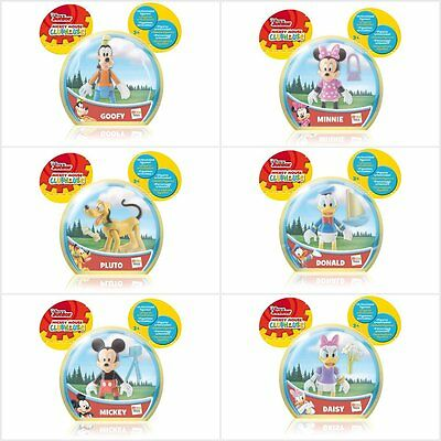 Disney Junior Mickey Mouse Clubhouse Figures Mickey Minnie Pluto Daisy Donald