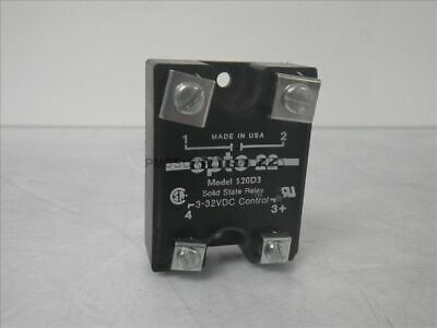 120D3 Opto 22 solid state relay 3-32VDC (Used and Tested)