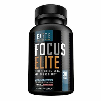 Brain Booster Supplement for Focus, Memory, & Clarity by Elite Source Labs