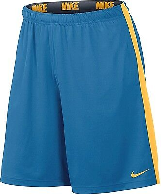 Nike Men's Dri Fit Fly 2.0 Running Athletic Active Shorts Bottom 519501 Blue M