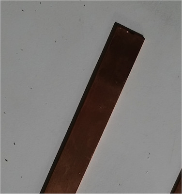 """1/16"""" Thick 99.9% Copper Flat Bar Stock Craft Jewelry Making 1"""" Wide x 12"""" Long"""