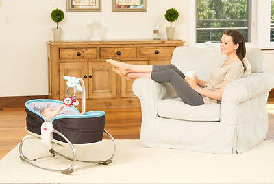 NEW TINY LOVE 3 in 1 ROCKER NAPPER  PLAY BASSINET GIFT BABY TOY