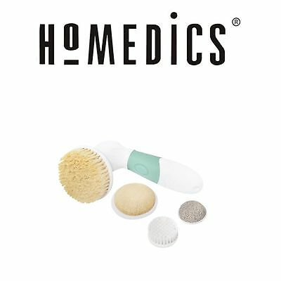 Homedics Spa Wet & Dry face & body brush kit