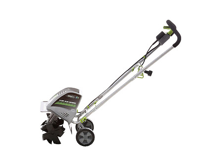 Electric Garden Tiller Cultivator 11 inch 4 Tine Outdoor Power Tool Small NEW