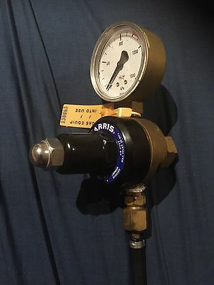 Harris CO2 Regulator for Home Brew Beer Kegging or Aquariums