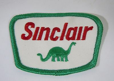 """SINCLAIR GASOLINE  Embroidered Iron On Uniform-Jacket Patch 3"""""""