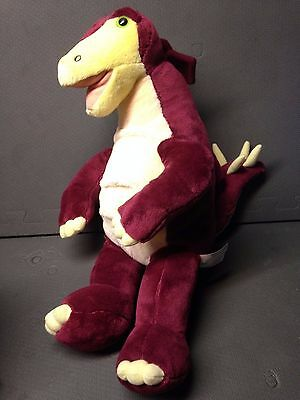 STEGOSAURUS BUILD A BEAR babw dinosaur bab raptor dino PLUSH stuffed