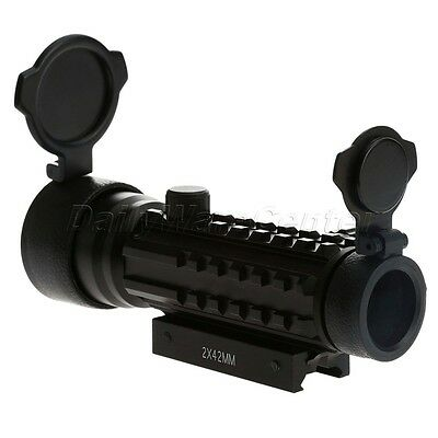 Adjustable Red Green Dot Scope Sight Mount Scope Mount To Hunting Rifle Gunsight