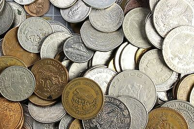 1 pound of Mexico coins lbs BONUS!!  free shipping. lot ,clearance ;;