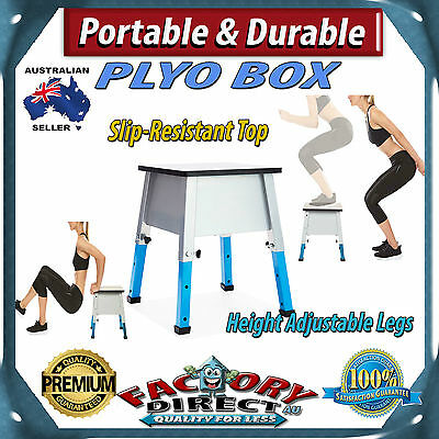 Professional Portable & Durable Plyo Box Fitness Workout Jumping Training!