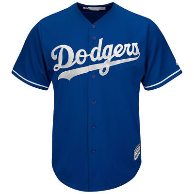 Los Angeles Dodgers Majestic MLB AC Cool Base Replica Jersey - Blue