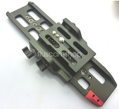 Hontoo Quick Release 15mm rod sys plate for FS7 C100 C300 C500 SLR