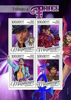 Z08 MOZ16325a MOZAMBIQUE 2016 Tribute to Prince MNH