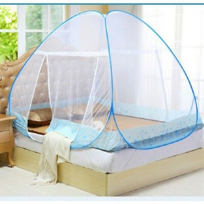 Portable Foldable Baby Kids Infant Bed Ger Zipper Canopy Mosquito Net Tent Hut