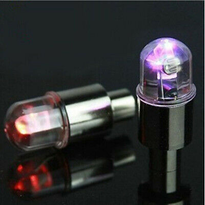 4pc Universal MULTI-COLOR LED Wheel Tyre Tire Air Valve Stem Cap Light Lamp Bulb