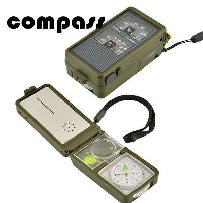 Hiking Compass 10 in 1 Military Camping Outdoor  Survival Tool  Multifunction