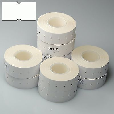 10,000 White CT1 Price Gun Labels For Motex MX-5500