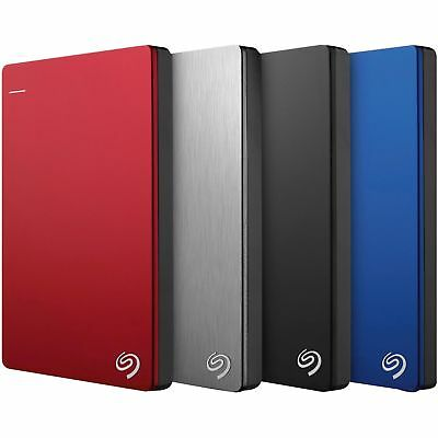 SEAGATE Backup Plus External Portable HDD Cloud PC MAC USB3 Hard Drive 4TB 2TB