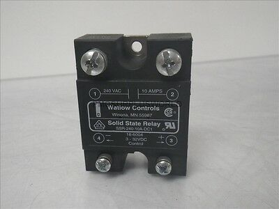 SSR-240-10A-DC1 Watlow Controls  solid state relay 10A 3-32VDC (Used and Tested)