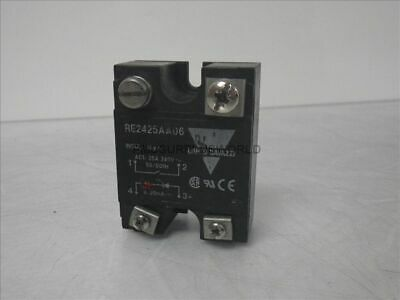 RE2425AA06 Carlo Gavazzi solid state relay 25A 240V 50/60Hz (Used and Tested)
