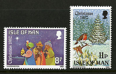 Isle of Man  1982   Scott # 221-222   Mint Never Hinged Set