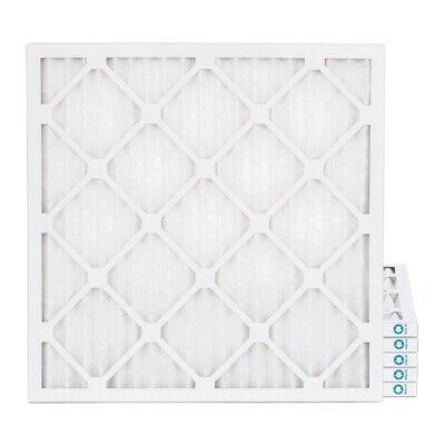 18x18x1 MERV 8 Pleated AC Furnace Air Filters.  6 Pack