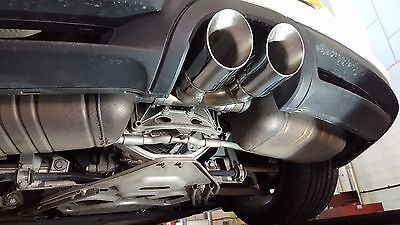 Porsche Boxster Cayman 981 2.7 Twin Tailpipe Exhaust Conversion