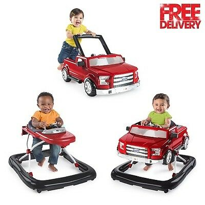 Walker Baby Infant  Activity Toy Adjustable Safety Trend Toy Red New Ford F 150